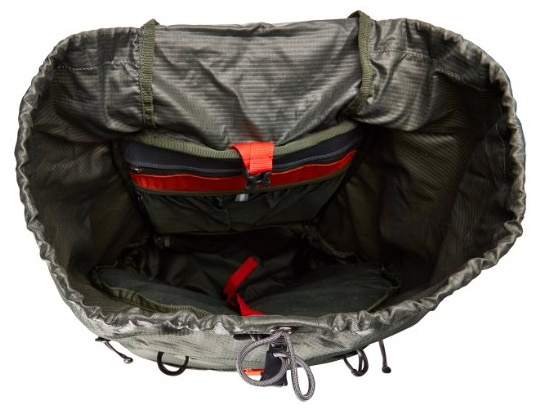 Osprey Backpack top