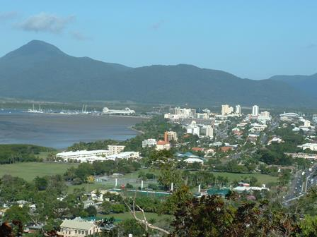 Cairns city view