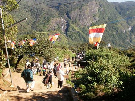 Adam's Peak trail