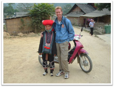 Meeting the locals in northern Vietnam