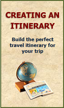 Creating an Itinerary